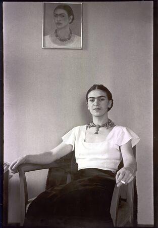 Frida Kahlo de Rivera 1907-1954 , famous Mexican painter